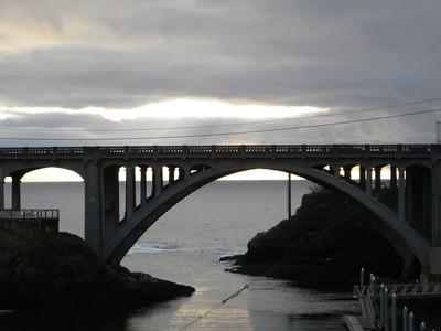 Bridge at Depot Bay