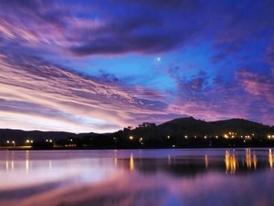 Sunset over Lake Tuggeranong