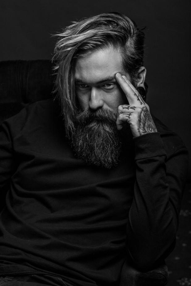 2018-02-18 - DCW - Studio Lighting Portrait Session 012 by lloydkasper - Male Portraits Photo Contest