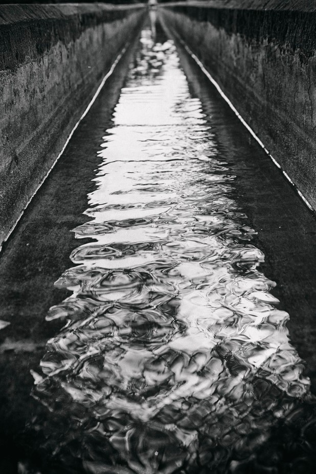 Water stream by hotdelhi - The Water In Black And White Photo Contest
