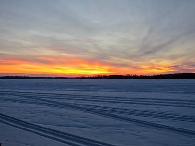 Sunrise at lake Simcoe, Canada (IMG_2758)