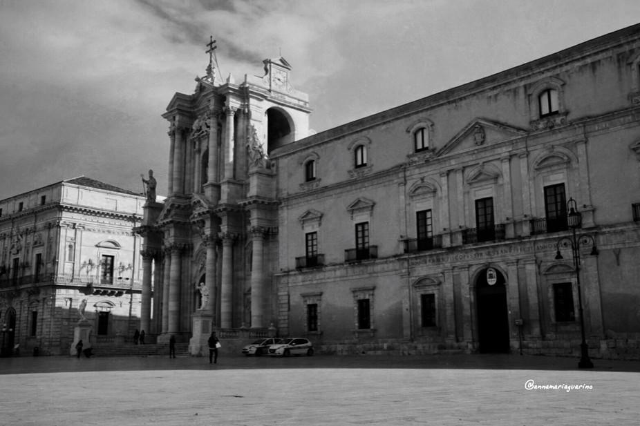 Piazza Duomo .Siracusa  (Sicilia )