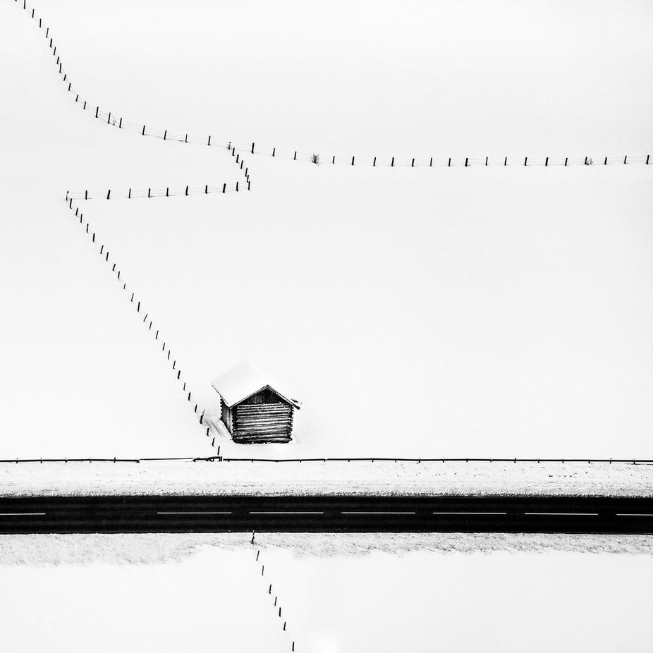 Isolated by petersvoboda - Winter Roads Photo Contest