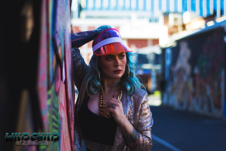 Sarah Jane Gray , Miss Inked Australia 2017. Taken in the city of Adelaide, South Australia.