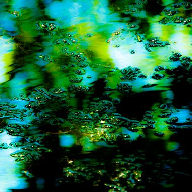Pond in Abstract
