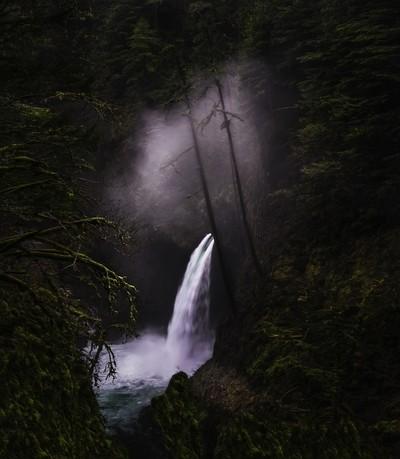 Metlako Falls Oregon