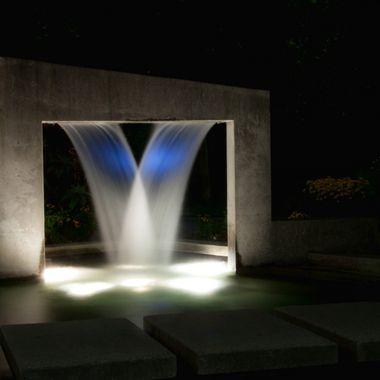 Granville Loop Sculpture by Night