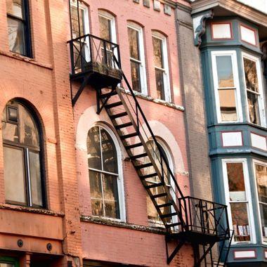 Gastown Stairway