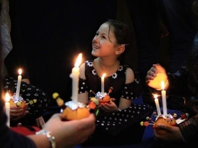 Lit up with joy (Light it up)