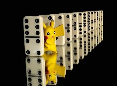 Domino Pikachu