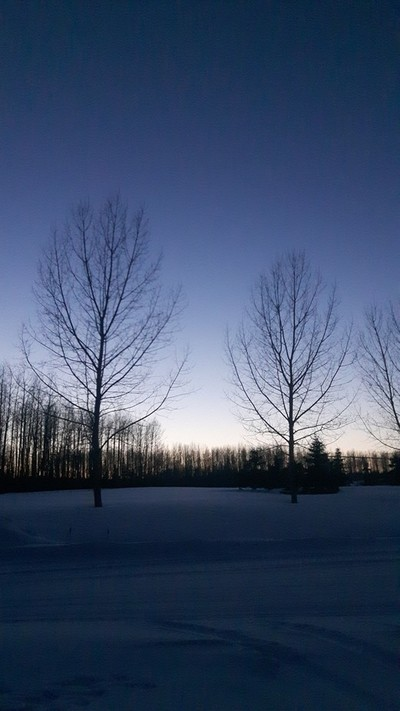 -40c Clear Sky After Sunset