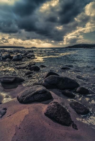 Split-toned Seascape