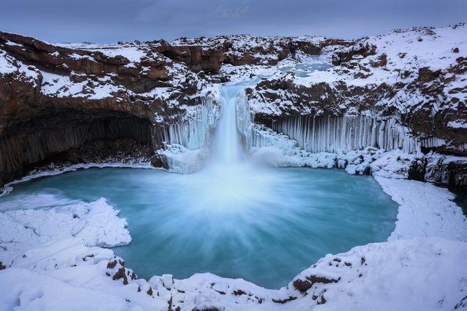 Winter Aldeyjarfoss by hugovalleperez - Covers Photo Contest Vol 46