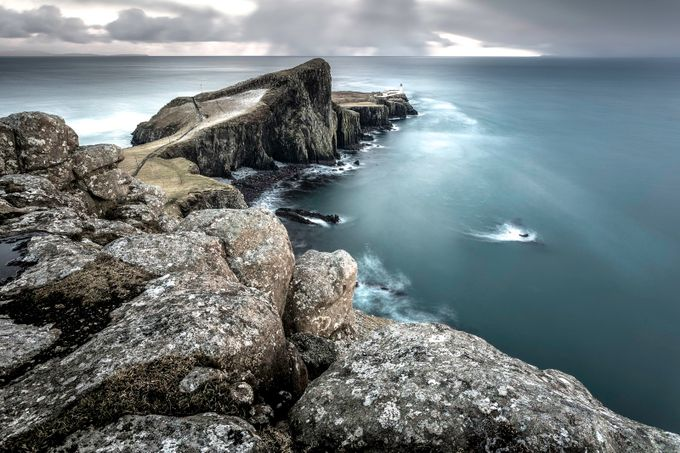 Neist Point Lighthouse by petelaw7 - Spectacular Cliffs Photo Contest