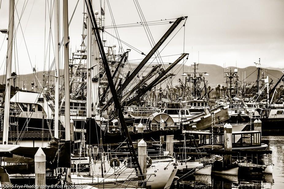 Ventura, California - VC Harbor, Winter