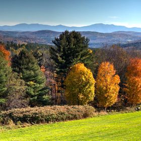 Taken in Vermont. Beautiful fall colors