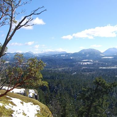 A view taken at Little Mountain top 22 feb 2018