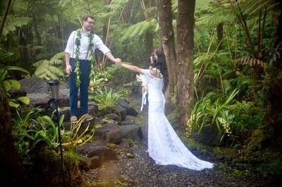 wedding in the rainforest
