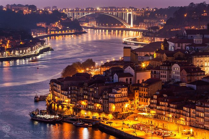 Old Town of  Porto by henryksadura - Sunset And The City Photo Contest