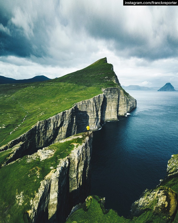 on top of faroe islands by franckreporter - Spectacular Cliffs Photo Contest