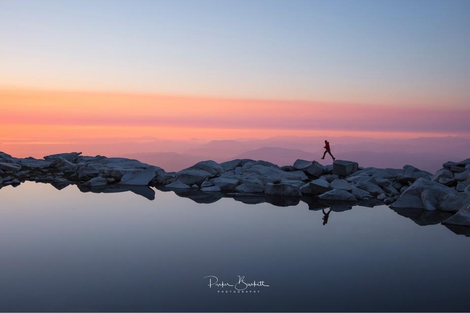 Another tarn mountain lake.....