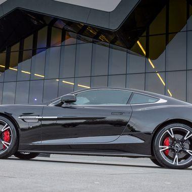 Aston Martin Vanquish @ Riverside Museum Glasgow