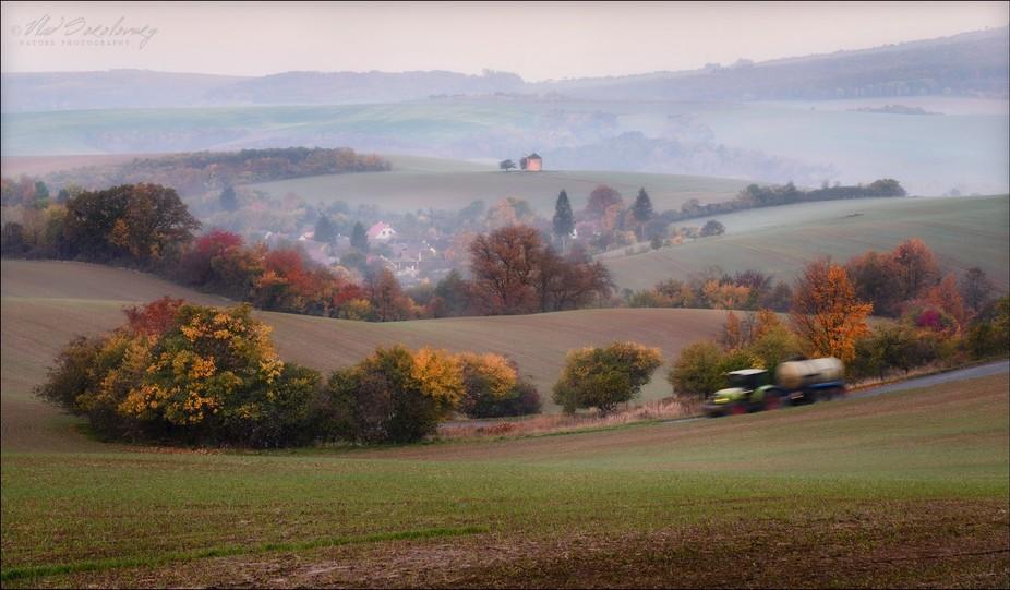 South Moravian, Czech republic. October 2017