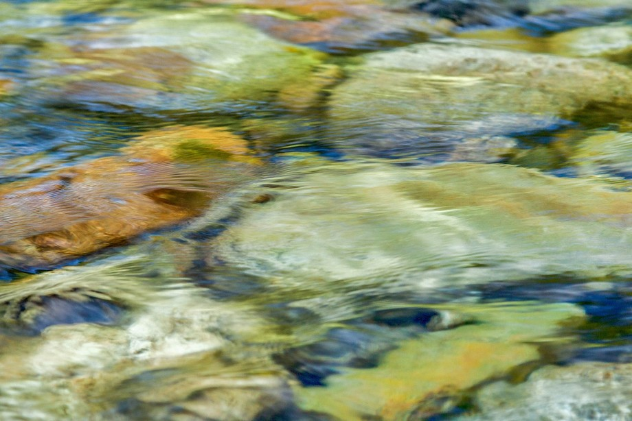 An abstract of flowing water.  Juried into 9th Annual New Mexico Photographic Art Show April 1-23.