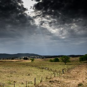 a bit of heavy editing in lightroom, country NSW