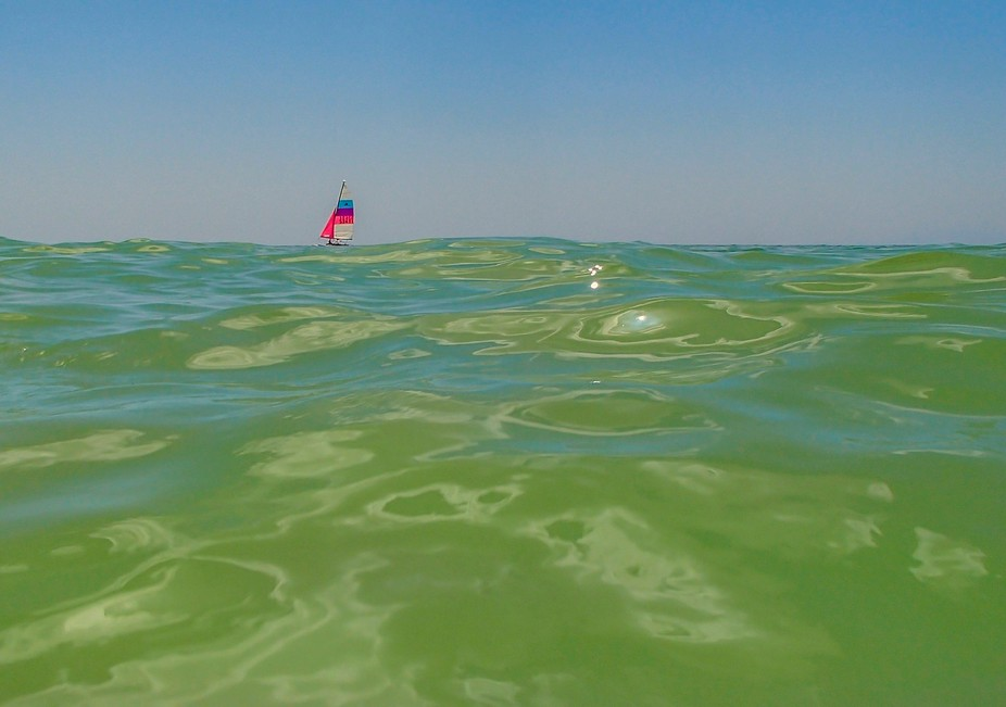 Beautiful day on the Gulf