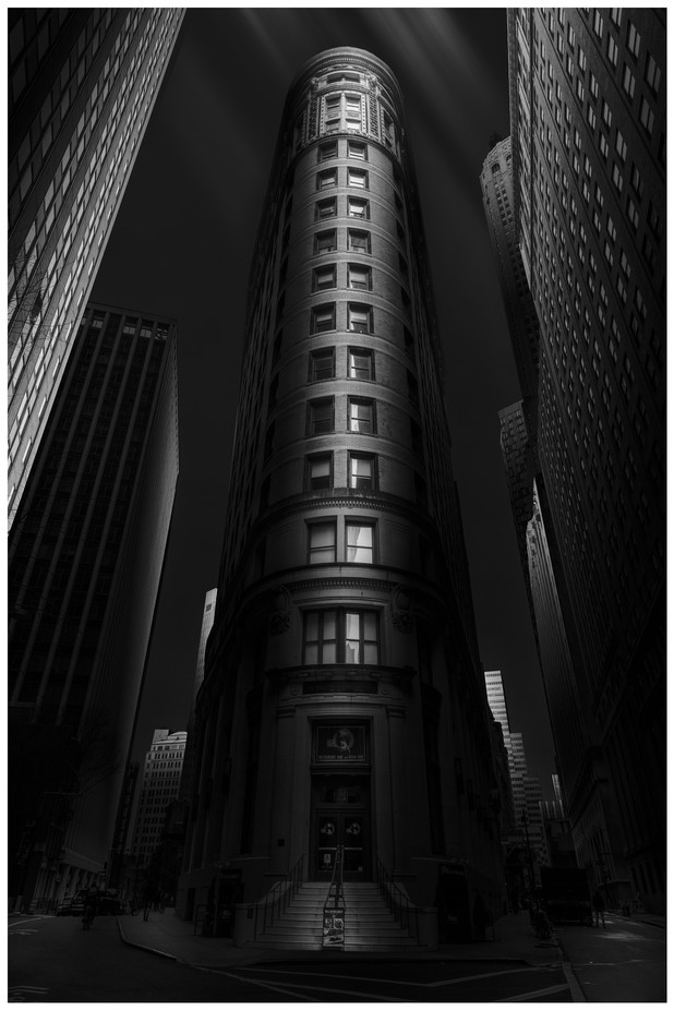Gotham by jaycohen - Black And White Compositions Photo Contest vol3