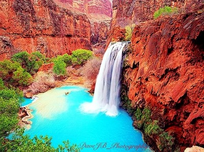 Havasu Falls, Grand Canyon.