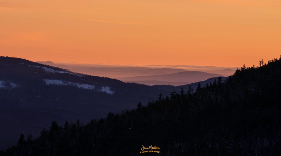 Sun Rise in the White Mountains
