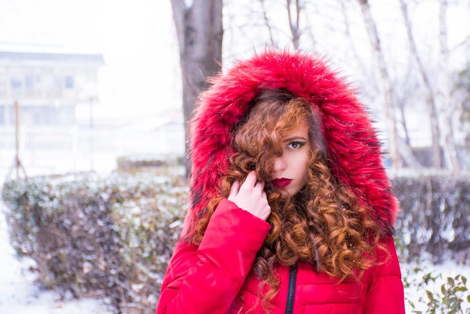 Redhood snowday