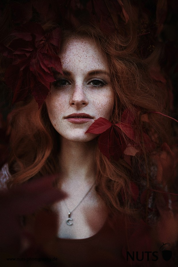 Corinna autumn by nutsphotography - Red Hair Photo Contest