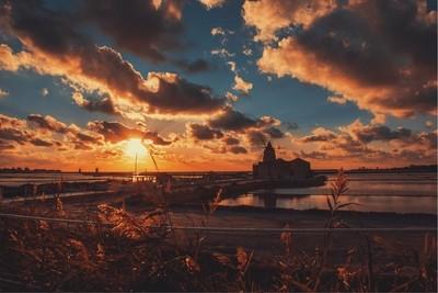 My dramatic italian sunsets