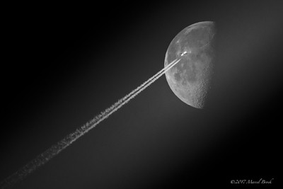 Fying to the moon