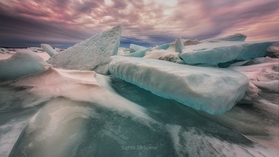 Ice Shoves Lake Michigan