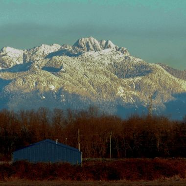 One of the Mountains that decorates the landscape around Vancouver.