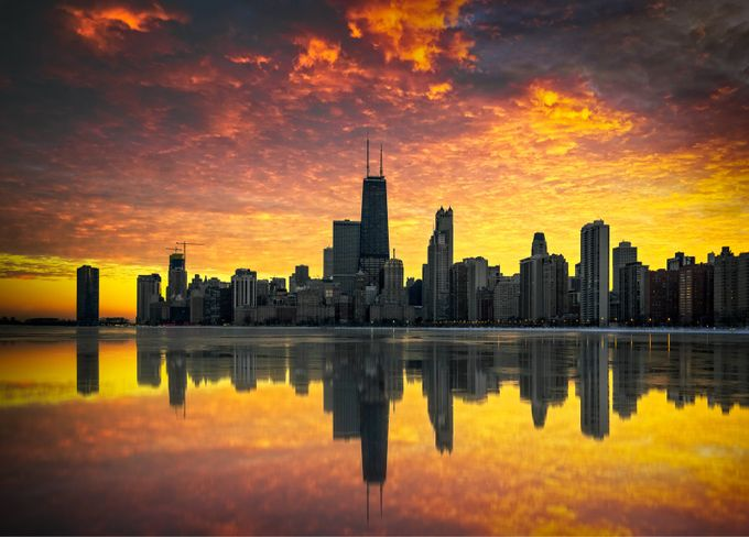 Every sunset is an opportunity to reset by Timestr3tch - Sunset And The City Photo Contest