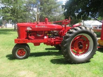 Antique Farmall tractor, ca. 1950