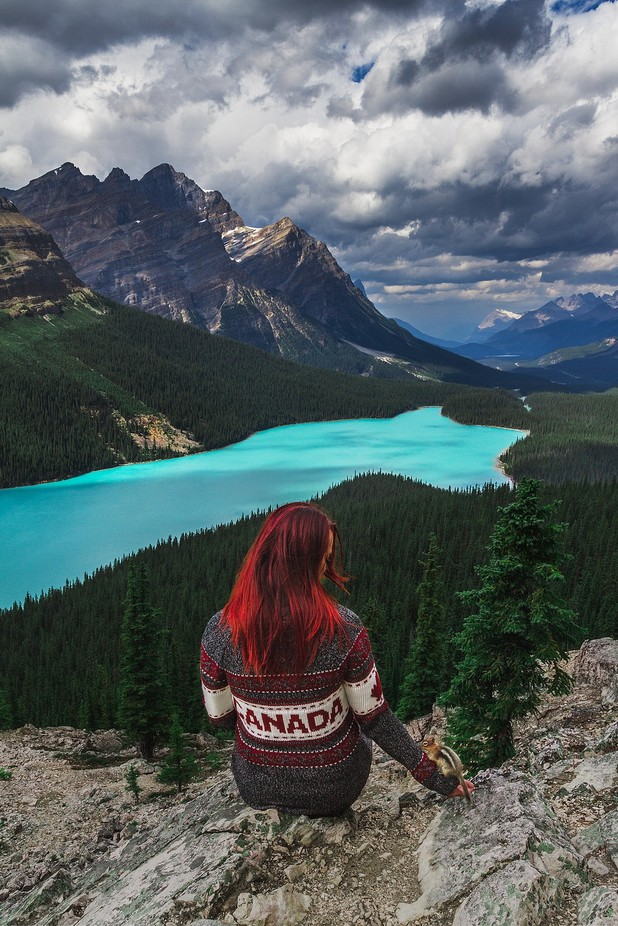 Making Friends by CrystalImaging - Red Hair Photo Contest