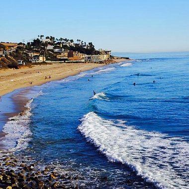 Malibu surfing mania!