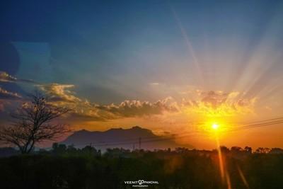 Sunrise on Road trip!