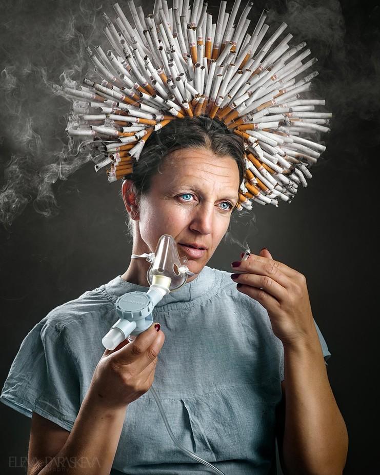The Smoker by ElenaParaskeva - My Best Capture Photo Contest