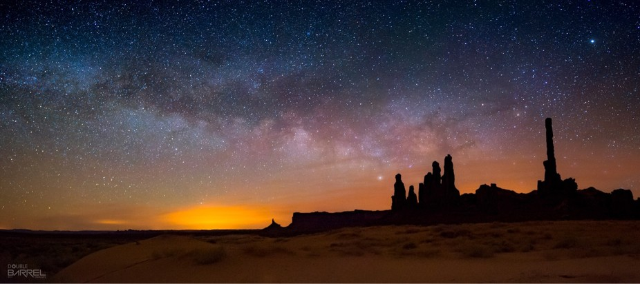 Another World - Totem Poles at Monument Valley