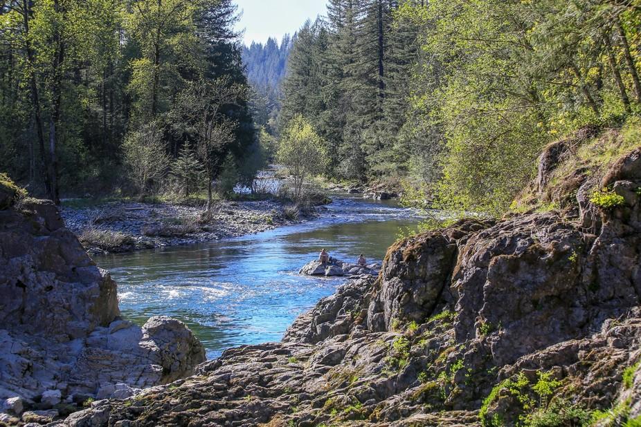 More Lewis River in Washington state.