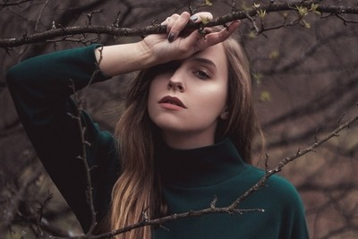 Self Portrait - In the Branches