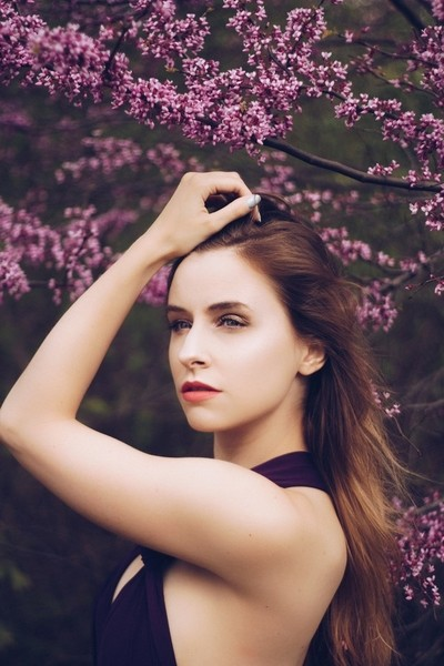 Self Portrait - Purple