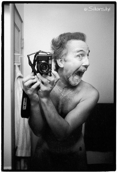 Crazy Self with Leica CL